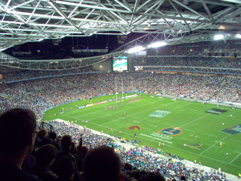 Football - http://en.wikipedia.org/wiki/File:NRL_Grand_Final_2006.JPG